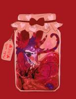 [Goretober] 11 Gut Spill by MoggieDelight