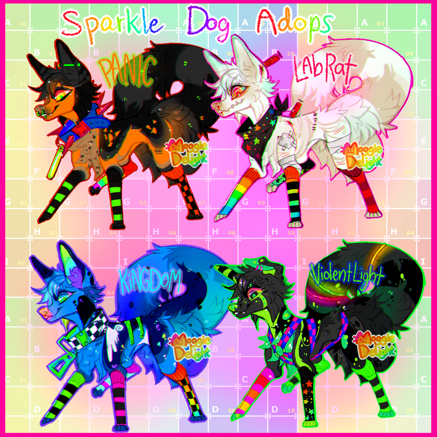Sparkledog Adopts~*~ by MoggieDelight