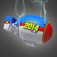 New Year Bomb Close-up
