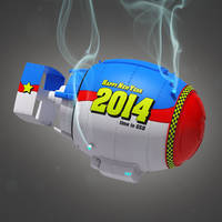 New Year Bomb Close-up