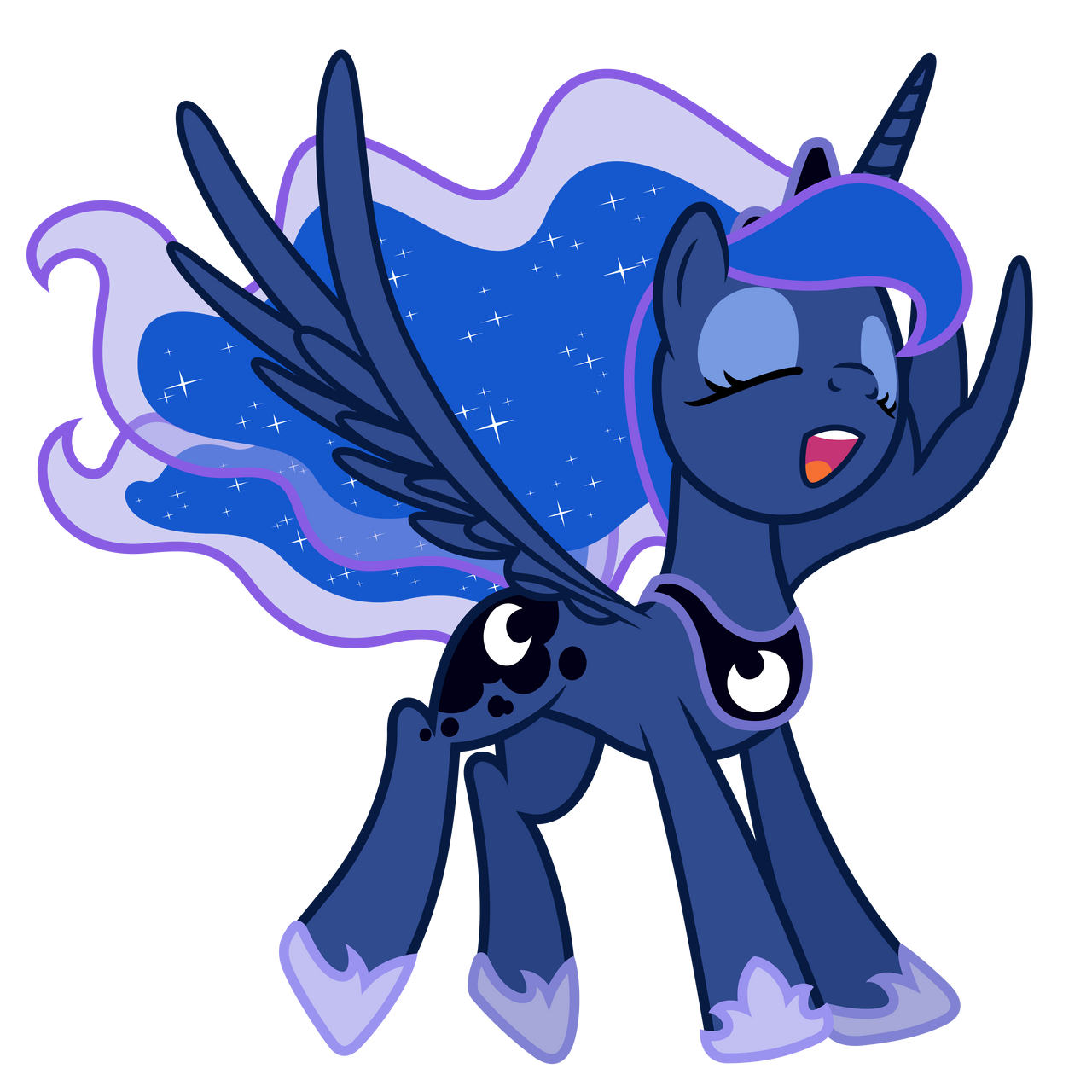 Sing Luna by DewlShock