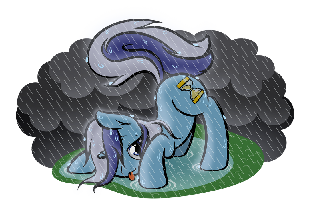 For a Minuette in the Rain