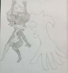 Midna sketched