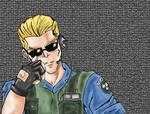 Resident Evil S.T.A.R.S.Wesker