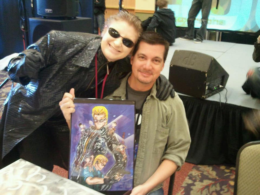 D.C. And Wesker meet again 2012 by samanosuke89