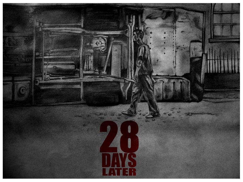 28 Days Later Sketch by WarfyrdauzwaR