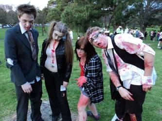 Zombiewalk 2011 by Alanian