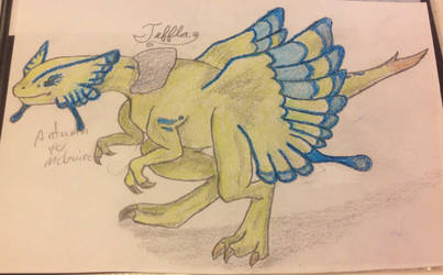 Teffla(Fossil Fighters Champions)