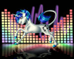 Vinyl Scratch (EarthSong9405 Sta.sh Coloring Book)