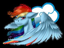 Rainbow Dash by Crazyaniknowit
