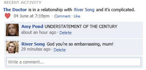Doctor and River's Facebook