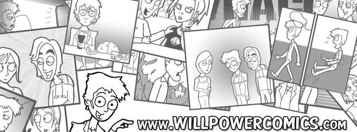 Will Power comics - My new website