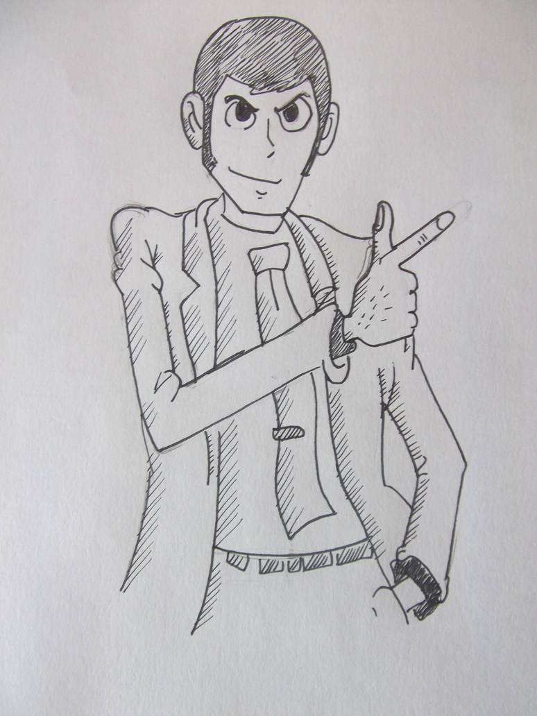Drawing like ass n3 lupin iii by boederman