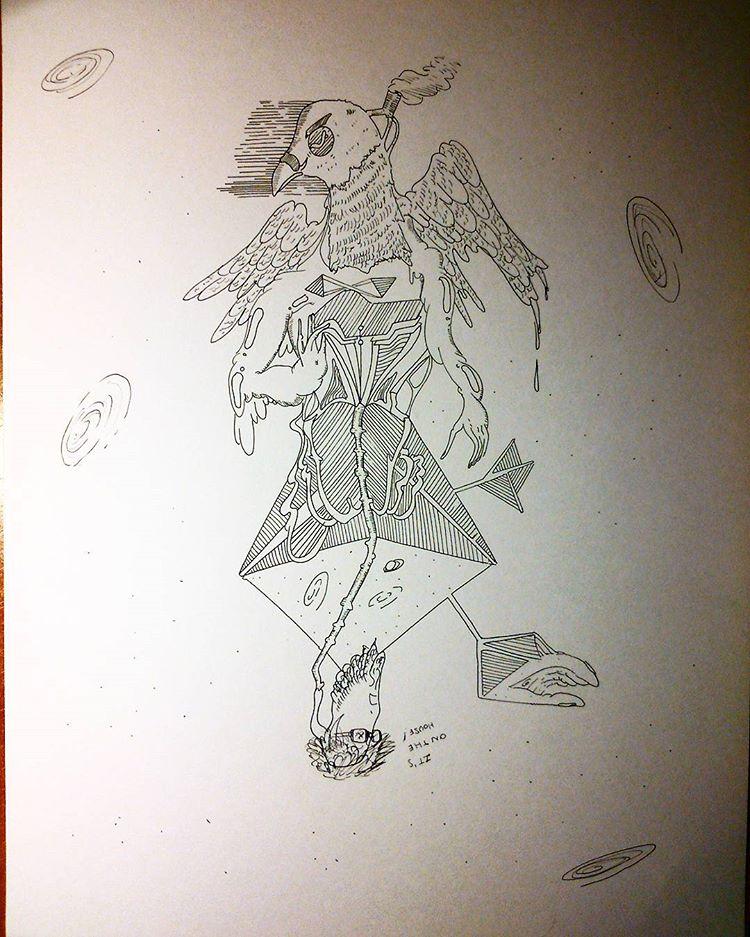 Mystic Pigeon by BoederMan