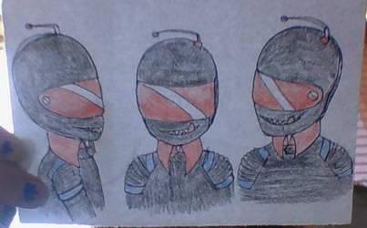 Manx' helmet