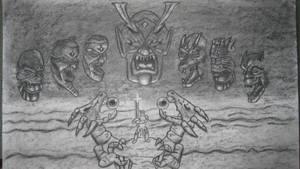 ActRaiser-Death Heim Struggle by ScepterDPinoy