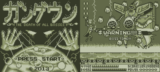 Gundown The Death Of All Bosses Game Boy Mockup by ScepterDPinoy