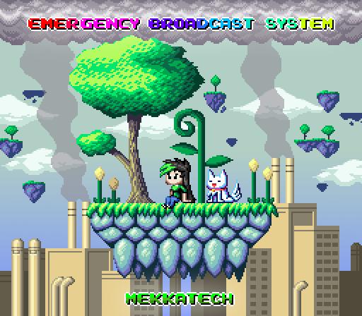 Mekkatech pixel art album cover by ScepterDPinoy