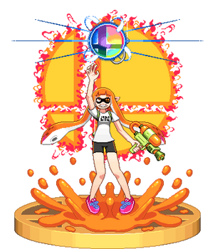 Inkling For Smash Diorama by ScepterDPinoy
