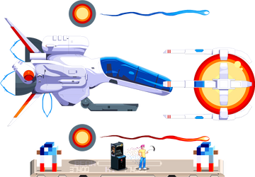 R-type Arrowhead Suge9 by ScepterDPinoy