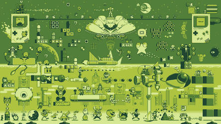 Game Boy 30th Anniversary Wallpaper 1080p by ScepterDPinoy