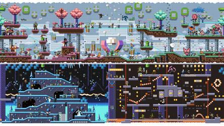 Summer Pixels 4k Wallpaper