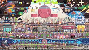 Videogame Metroidvania 4k