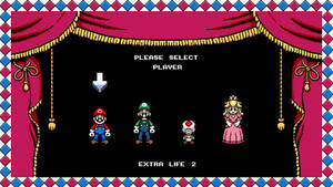 Super Mario vs. The World The Game player select