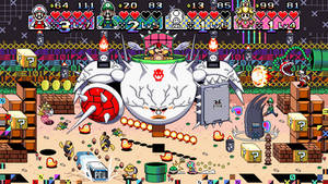 Super Mario vs. The World The Game boss battle