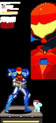 Metroid Dread Samus sprite Suge9