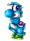 Cute Little Yoshi by HG-The-Hamster