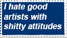 artist attitude stamp by HG-The-Hamster