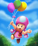 Mario party more like TOADETTE PARTY