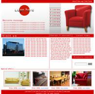 poor furniture web site by kono