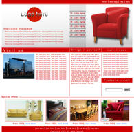 poor furniture web site by kono
