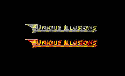 unique illusions logo by kono
