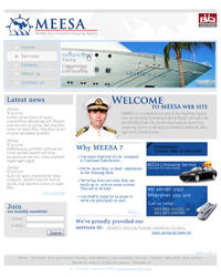MEESA Web site layout
