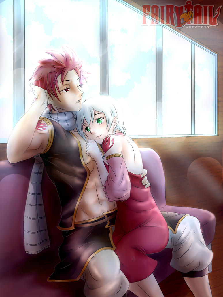 natsu and lisanna by ionditol on deviantart