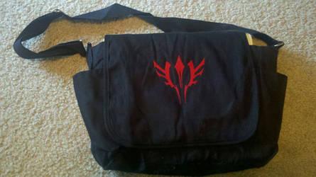 Fate/Zero Command Seal Messenger Bag - Waver by marasw