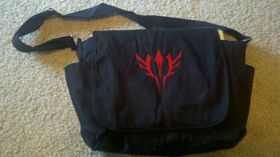 Fate/Zero Command Seal Messenger Bag - Waver by marasw