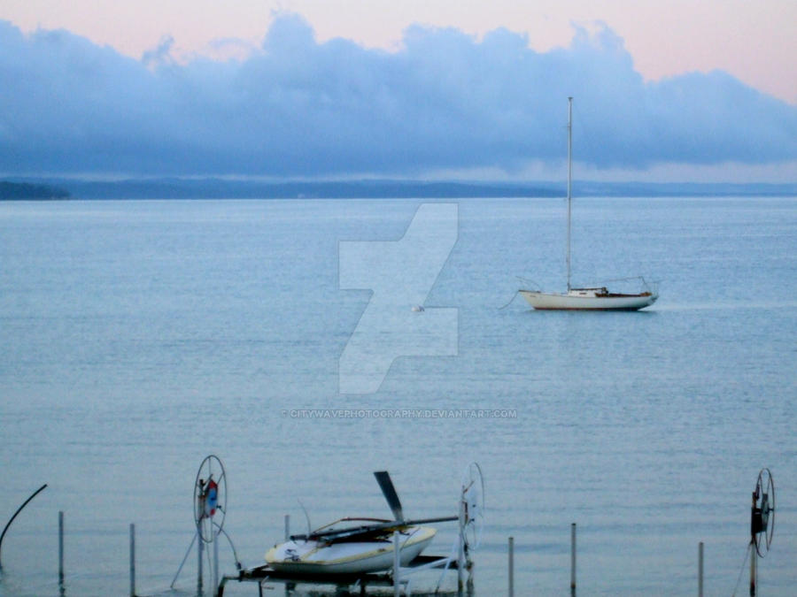 Sailboat by CityWavePhotography