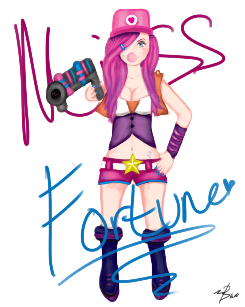 Arcade Miss Fortune by BaoishEquality