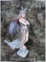 Zorya #100 OOAK Sculpture by bornbrightdolls