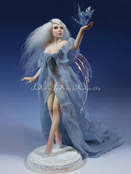Queen of Sirius OOAK Sculpture by bornbrightdolls