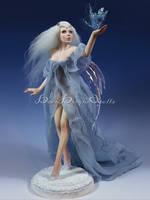 Queen of Sirius OOAK Sculpture by bornbrightdolls