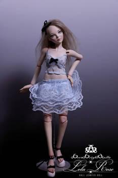 Lola Rose BJD Doll Handmade Polymer Clay