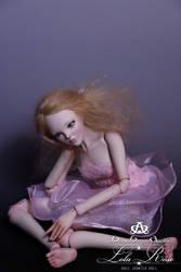 Lola Rose BJD Doll Handmade (Pink Princess)