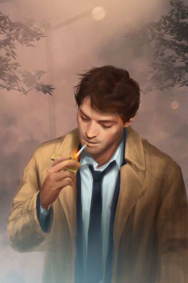 Castiel Constantine by NaSyu