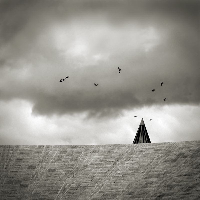 pigeons and pyramid by anjelicek