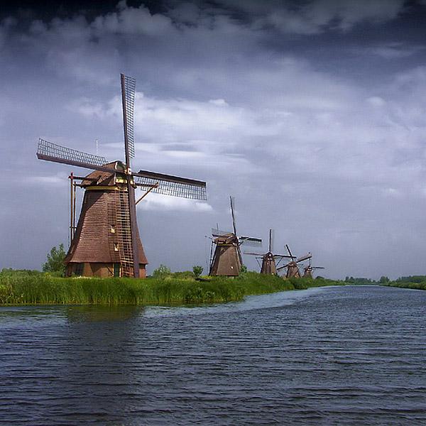 Kinderdijk by anjelicek